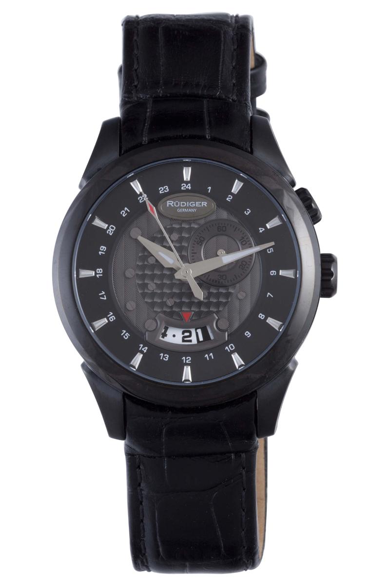 Rüdiger Men's R6000-13-007 Konstanz Collection Watch
