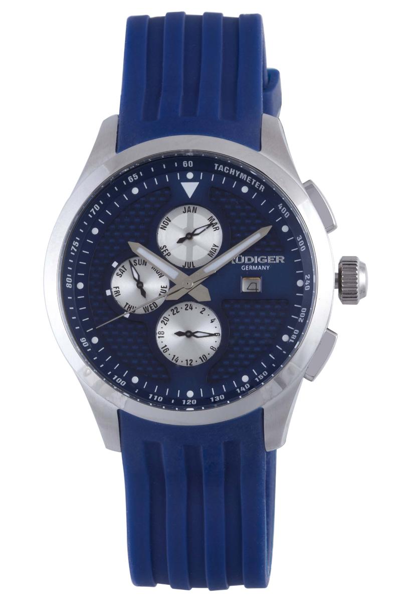 Rüdiger Men's R4000-04-003 Zwickau Collection Watch